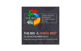 Δυναμική παρουσία στην έκθεση «The Big 5 2017-Dubai 2017»